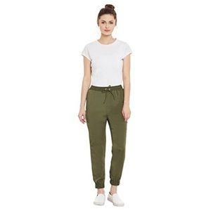 Love & Liberty Olive Green Drawstring Waist Jogger